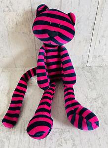 Little Jellycat Bonbon Kitty Cat Pink Blue Striped Stripes Tiger Plush Retired