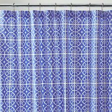 Crate & and Barrel TAZA BLUE SHOWER CURTAIN!  NEW without tags!  Great color!