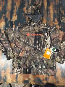 NWOT Nomad Hoodie Southbounder Mossy Oak Camo Pullover Youth Size L
