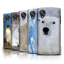 Étuis, housses et coques blancs LG Nexus 4 pour téléphone mobile et assistant personnel (PDA) Google