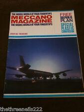 MECCANO MAGAZINE - PLASTIC CONVERSION - JAN 1967 VOL 52 # 1