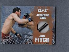 2010 Topps UFC Main Event Cage Relics #CRJF Jon Fitch UFC 096