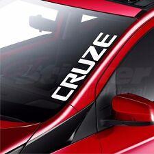 Chevrolet Cruze Car Windscreen Sticker Rear Window Bumper Decal