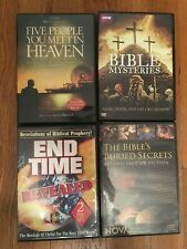 4 HISTORY DVDs lot: BBC, documentary films archaeology ancient