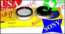 Sony OEM 52mm Protector ND8 Neutral Density Lens Filter Camera Camcorder 52 mm