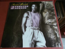 JERMAINE JACKSON: PRECIOUS MOMENTS: VINYL LP: 1986: ARISTA: OIS: WHITNEY HOUSTON