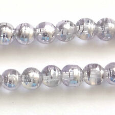 300 Lilac Drawbench Translucent 6mm Beads Jewellery Making