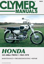 Clymer Repair Service Shop Manual Honda CB125/160/175/200 CD125/175  SS125A