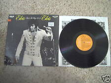 Elvis Presley LP:   That's The Way It Is,  Germany release, RCA # LSP-4445