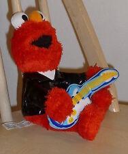 "2007 Mattel Fisher-Price 10"" Elmo with Guitar Black Patent Top ~ Sesame Street"