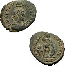 Arcadius maiorina Heraclea 383 gloria Romanorvm manus dei labarum Ric 12