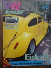 VW Scene 6/95 Volkswagen Golf Beetle Polo Scirocco Taro Toyota Hilux Pickup OEM