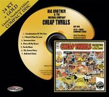Joplin, Janis Big Brother & The Holding Company Cheap Thrills 24 K Gold CD A. F.