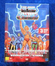 He-Man and the Masters of the Universe, 3 Disc Set DVD Box