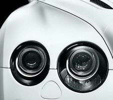 BENTLEY CONTINENTAL GT GTC Black HEADLIGHT TRIMS Surrounds Frames Rings 03~09 B
