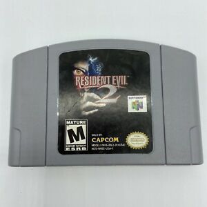 Resident Evil 2 (Nintendo 64, 1999) authentic, cart only N64