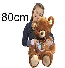 Huge Giant Extra Large 80cm Brownley Teddy Bear Bears Big Soft Plush Toys Kids