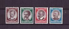 U0089) GERMANY REICH 1934 Lost colonies MNH ** 432-435 (Mi.540-543)