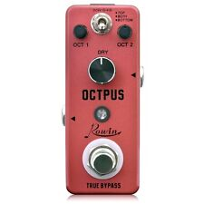 Rowin LEF-3806 Octpus Poly Octave Pedal  Fast/Free US Ship New Nice!