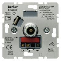 BERKER Drehdimmer 286610 20-500W Dreh-Dimmer-Einsatz 2866-10