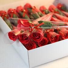 5pcs Rosa Artificiale Fiori Di Seta Floreale Finto San Valentino Matrimonio