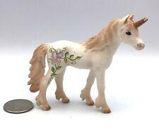 Schleich UNICORN FOAL Fantasy Horse Baby Figure 70420 2009 Retired Bayala