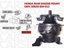 honda support de moteur arrière LH (hydraulique) oem 50820-S04-013