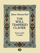The Well-Tempered Clavier: Books I and II, Complete (Dover Music for Piano) by J