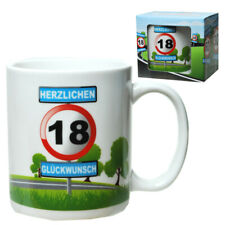 18.Geburtstag Tasse Kaffeetasse Coffee mug,Happy Birthday,Neu