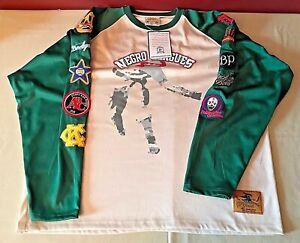 Bornagain Goods Baseball Negro Leagues All Stars Long Sleeve Shirt Mens XXL NWT