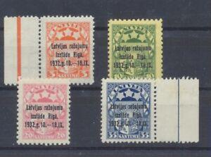 LATVIA   1932   SC 164-167  MNH   (8B)
