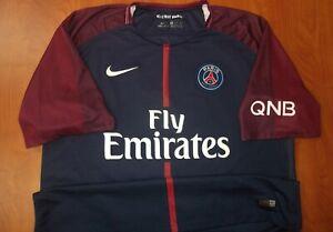 Nike PSG Paris Saint-Germain Dani Alves # 32 Dri-Fit Match Soccer Jersey XXL
