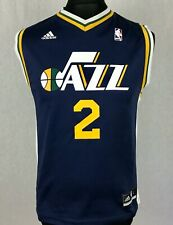 Adidas Utah Jazz NBA #2 Williams Basketball Jersey Boys Youth Size L