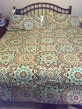 King Size Quilted Bedspread With Shams