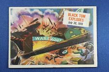 1954 Topps Scoop - #49 Black Tom Explodes - G/VG Condition