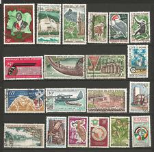 Côte-d'Ivoire un lot de 50 timbres oblitérés /TR1631
