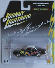 Johnny Lightning – VW Karmann Ghia schwarz mit Flammen Neu/OVP