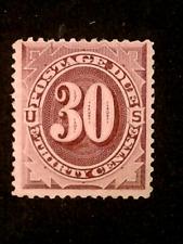 U S Stamps Scott J20 thirty cent postage due mint cv 225.00