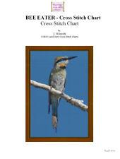 BEE EATER- cross stitch chart