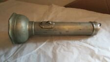 """Vintage Coleman """"The Sunshine of the Night"""" Chrome Metal Flash Torch"""