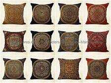 set of 5 outdoor throw pillow covers cushion covers unity harmony mandala