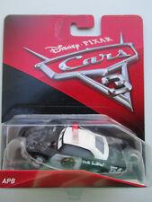 DISNEY PIXAR CARS 3 DEMOLITION DERBY *APB* #54 THE LAW CRAZY 8 SPEEDWAY NEW! HTF