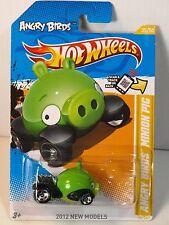 Hot Wheels 2012 New Models 35/50 Angry Birds Minion Pig Green