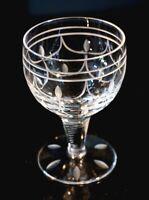 Beautiful Stuart Crystal Tamara Wine Glass