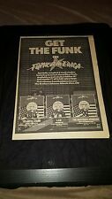 Brothers Johnson, L.T.D Funk America Rare Original Uk Promo Poster Ad Framed!
