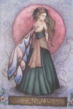 "Jessica Galbreth "" TAURUS"" - Zodiac - 8"" X 10"" Matted Print"