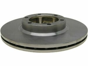 For 1982 Dodge D50 Brake Rotor Front AC Delco 66317KW 4WD Silver -- New