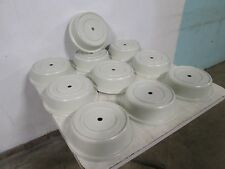 "Lot Of (10) ""Cambro"" Commercial Heavy Duty Stackable 11"" Plate Dome Cover/Lids"