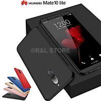 COVER Fronte Retro 360° per Huawei Mate 10 Lite PROTEZIONE Totale ORIGINALE SLIM