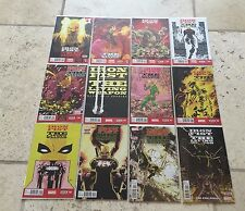 IRON FIST LIVING WEAPON 1 2 3 4 5 6 7 8 9 10 11 12 1ST PRINT FULL SET NM